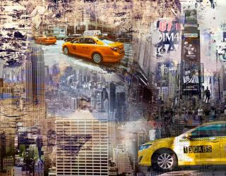 Фотообои Такси арт 18701