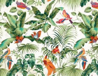 Фотообои Тропические листья 19604