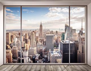 Фотообои Нью Йорк из окна 22991