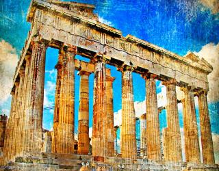 Фотообои Храм Афины , Греция 4623