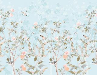 Фотообои Ветви с птицами 28361