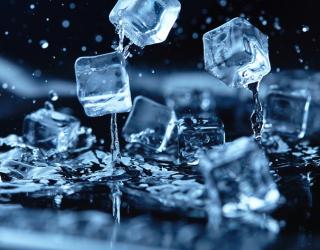 Фотообои кубики льда 21053