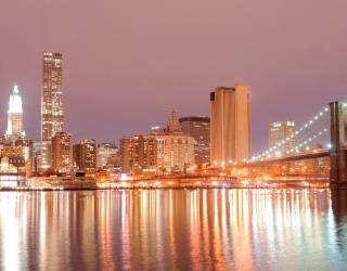 Фотообои Зачарованный яркий мост 8421