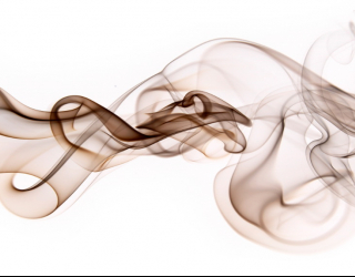 3д фотообои Дым 18145