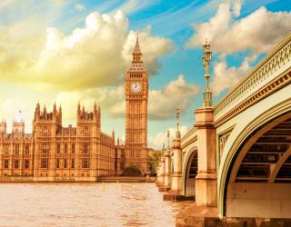 Фотообои Биг-Бен в Лондоне 12495