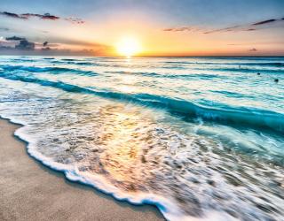 Фотообои Море на закате 26525