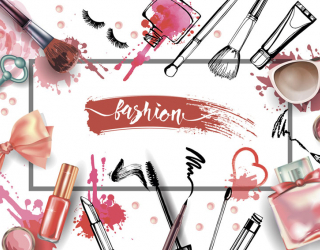 Фотообои Принт для салона красоты 22732