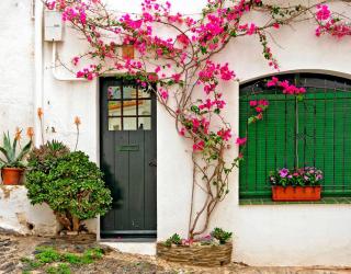 Фотообои Улица Кадакес, Испания 10404