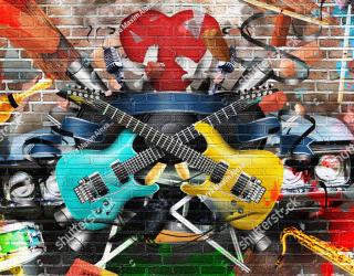 Фотообои Гитара для подростка 265556297