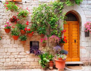 Фотообои Улочка в Италии 10014