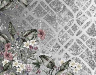 Фотообои Цветы с узором 23870
