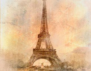 Фотообои Эйфелева башня 2092