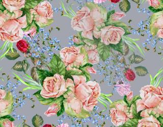 Фотообои Принт винтажные цветы 22749