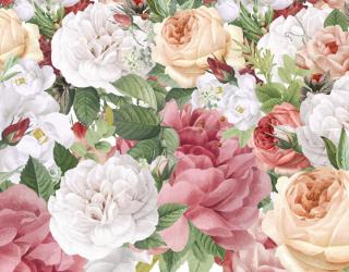 Фотошпалери Вінтажні квіти 23779