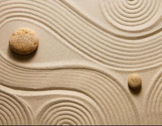 Фотообои Дзен и песок 22591