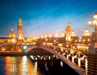 Фотообои Мост в Париже 10742