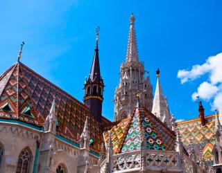 Фотообои Церковный замок 0225
