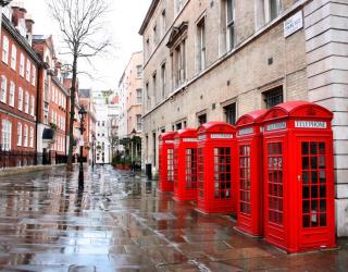 Фотообои Улица в Лондоне 7715