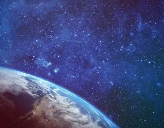 Фотообои Звёзды в небе 23438