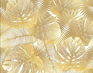 Фотообои Золотые листья 26018