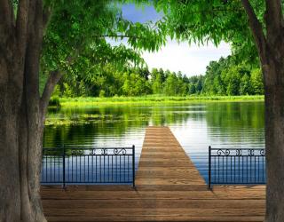 Фотообои Вид на реку 22317