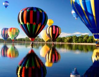 Фотообои Воздушные шары 5192