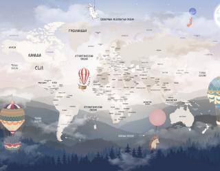 Карта и горы 22141