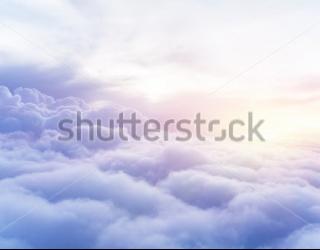 Фотообои 3 д облака 204614026