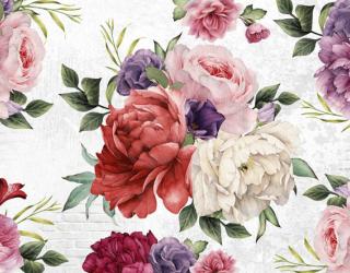 Фотообои Винтажные яркие цветы 22453
