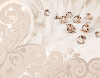 3д фотообои Драгоценные камни 18690
