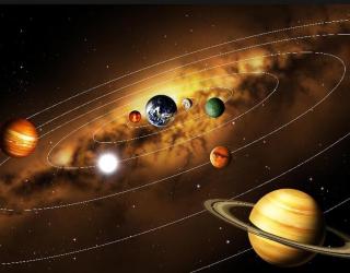 Фотообои Солнечная система а140