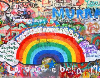 Фотообои Граффити на стене 22711