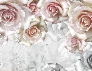 Фотообои Обьемные розы 22454