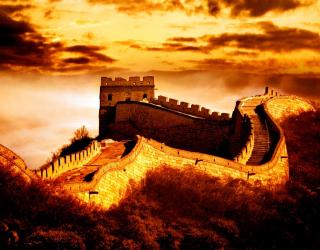 Фотообои Китайская стена 3189