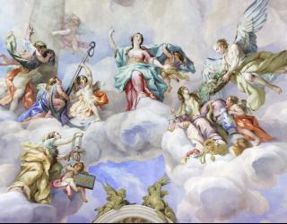 Фотообои Винтажная фреска 22673