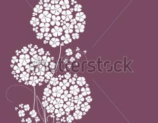 Фотообои Цветы 74896342