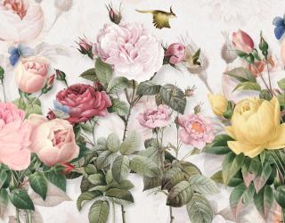 Фотообои Цветы винтажные 22922