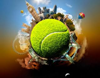 Фотообои Мировой теннис 11797