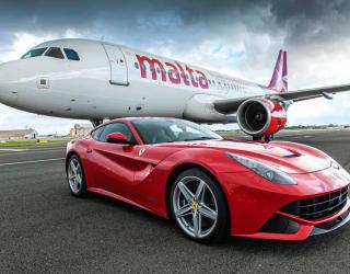 Фотообои Самолет и автомобиль 10589