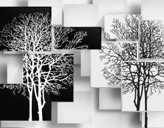 Фотообои 3д деревья 28931