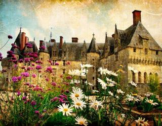 Фотообои Замок в глуши 1264