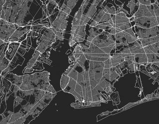 Фотообои Карта в офис 27745