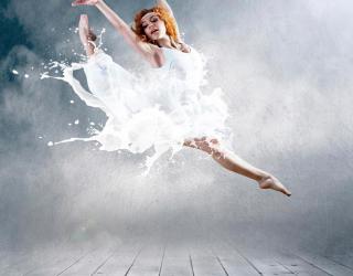 Фотообои Балерина 4690