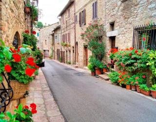 Фотообои Улочка в Асизи, Италия 10612