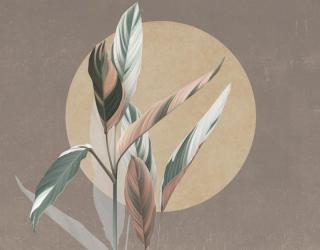 Фотообои Дизайнерские листья 26440