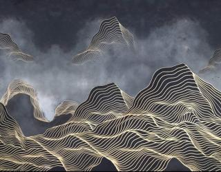 Фотообои Абстрактные горы  28921