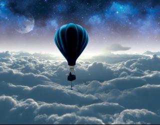 3д фотообои Воздушный шар 19746