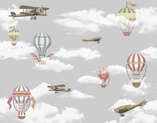 Фотообои Самолётики и воздушные шары 24088