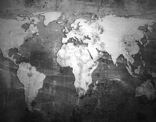 Фотообои Серая карта лофт а113