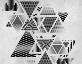 Фотообои Треугольники 19926